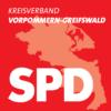 Logo des SPD-Kreisverbandes Vorpommern-Greifswald